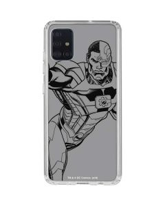 Cyborg Comic Pop Galaxy A51 Clear Case