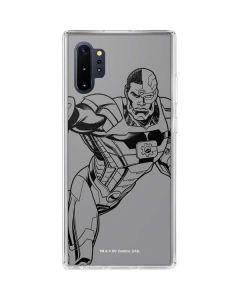 Cyborg Comic Pop Galaxy Note 10 Plus Clear Case