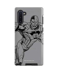 Cyborg Comic Pop Galaxy Note 10 Pro Case