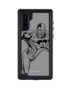 Cyborg Comic Pop Galaxy Note 10 Waterproof Case