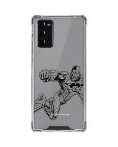 Cyborg Comic Pop Galaxy Note20 5G Clear Case