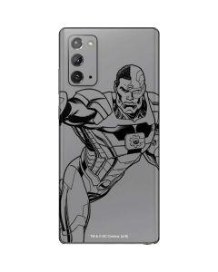 Cyborg Comic Pop Galaxy Note20 5G Skin