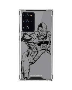 Cyborg Comic Pop Galaxy Note20 Ultra 5G Clear Case
