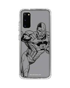 Cyborg Comic Pop Galaxy S20 Clear Case