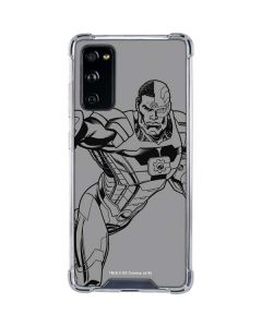 Cyborg Comic Pop Galaxy S20 FE Clear Case