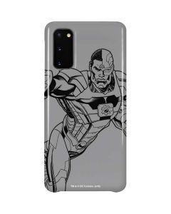 Cyborg Comic Pop Galaxy S20 Lite Case