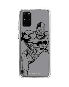 Cyborg Comic Pop Galaxy S20 Plus Clear Case
