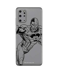 Cyborg Comic Pop Galaxy S20 Plus Skin