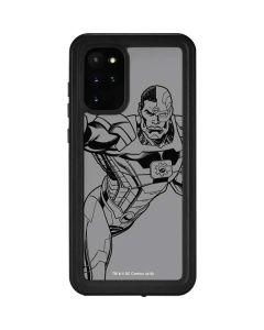 Cyborg Comic Pop Galaxy S20 Plus Waterproof Case