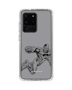 Cyborg Comic Pop Galaxy S20 Ultra 5G Clear Case