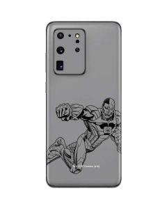 Cyborg Comic Pop Galaxy S20 Ultra 5G Skin