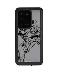 Cyborg Comic Pop Galaxy S20 Ultra 5G Waterproof Case