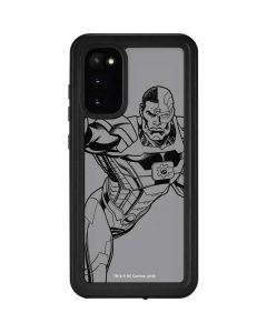 Cyborg Comic Pop Galaxy S20 Waterproof Case