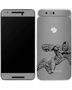 Cyborg Comic Pop Google Nexus 6P Skin