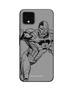 Cyborg Comic Pop Google Pixel 4 Skin
