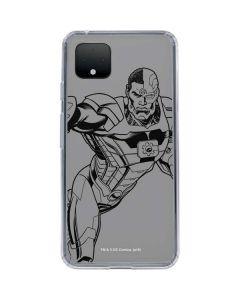 Cyborg Comic Pop Google Pixel 4 XL Clear Case