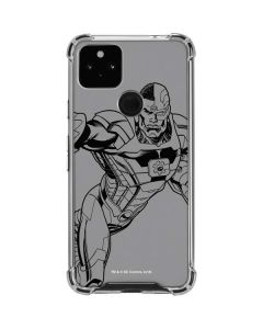 Cyborg Comic Pop Google Pixel 4a 5G Clear Case