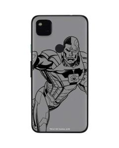Cyborg Comic Pop Google Pixel 4a Skin