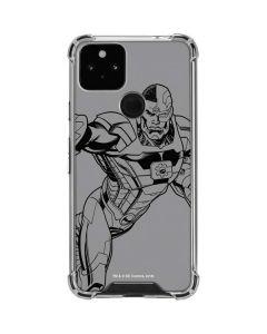 Cyborg Comic Pop Google Pixel 5 Clear Case
