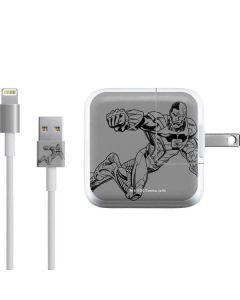 Cyborg Comic Pop iPad Charger (10W USB) Skin