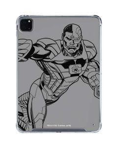 Cyborg Comic Pop iPad Pro 11in (2020) Clear Case