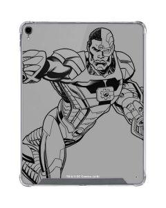 Cyborg Comic Pop iPad Pro 12.9in (2018-19) Clear Case