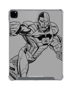 Cyborg Comic Pop iPad Pro 12.9in (2020) Clear Case