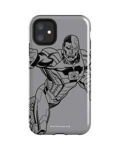Cyborg Comic Pop iPhone 11 Impact Case