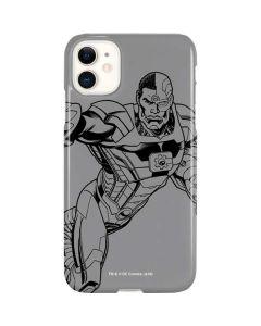 Cyborg Comic Pop iPhone 11 Lite Case