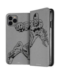 Cyborg Comic Pop iPhone 11 Pro Folio Case