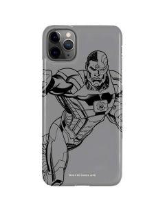 Cyborg Comic Pop iPhone 11 Pro Max Lite Case