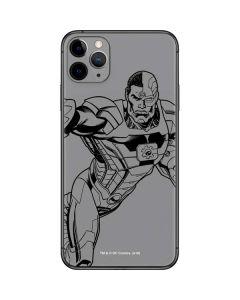 Cyborg Comic Pop iPhone 11 Pro Max Skin