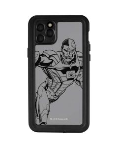 Cyborg Comic Pop iPhone 11 Pro Max Waterproof Case