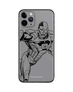 Cyborg Comic Pop iPhone 11 Pro Skin