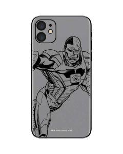 Cyborg Comic Pop iPhone 11 Skin