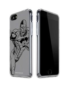 Cyborg Comic Pop iPhone SE Clear Case