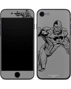 Cyborg Comic Pop iPhone SE Skin