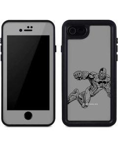Cyborg Comic Pop iPhone SE Waterproof Case