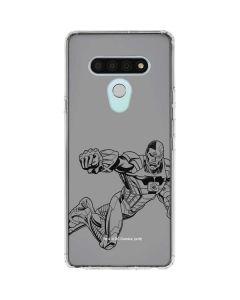 Cyborg Comic Pop LG Stylo 6 Clear Case