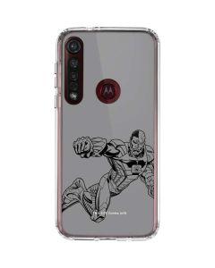 Cyborg Comic Pop Moto G8 Plus Clear Case