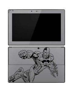 Cyborg Comic Pop Surface RT Skin
