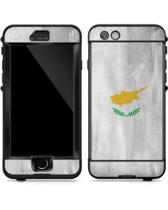 Cyprus Flag Distressed LifeProof Nuud iPhone Skin