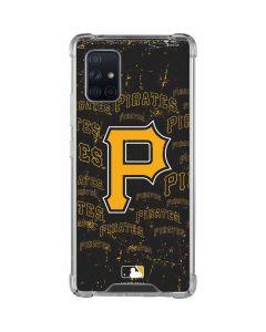 Pittsburgh Pirates - Cap Logo Blast Galaxy A71 5G Clear Case