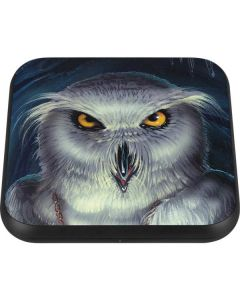 White Owl Wireless Charger Single Skin