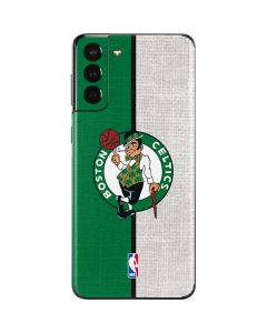 Boston Celtics Canvas Galaxy S21 Plus 5G Skin
