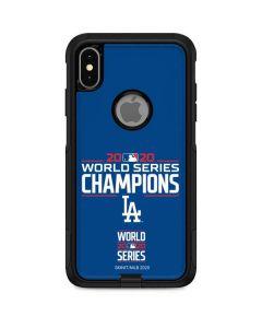 2020 World Series Champions LA Dodgers Otterbox Commuter iPhone Skin