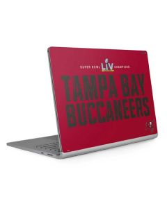 Super Bowl LV Champions Tampa Bay Buccaneers Surface Book 2 15in Skin