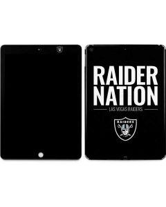 Las Vegas Raiders Team Motto Apple iPad Skin