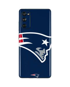 New England Patriots Large Logo Galaxy S20 Fan Edition Skin