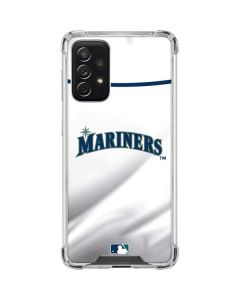 Seattle Mariners Home Jersey Galaxy A72 5G Clear Case